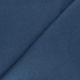 Tissu ramie uni - gris acier x 10cm