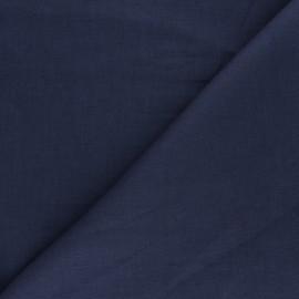 Tissu ramie uni - gris indigo x 10cm