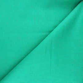 Plain ramie fabric - green x10cm