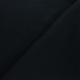 Tissu Mind the Maker sweat bio Basic - noir x 10 cm