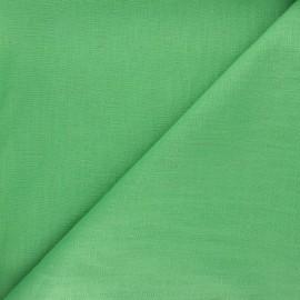 Tissu ramie uni - vert prairie x 10cm