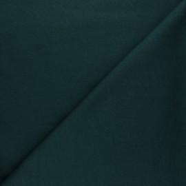 Tissu Mind the Maker sweat bio Basic - vert bouteille x 10 cm