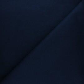 Tissu Mind the Maker sweat bio Basic - bleu marine x 10 cm