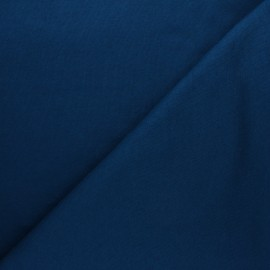 Mind the Maker Organic sweatshirt fabric - duck blue Basic x 10 cm