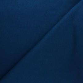 Tissu Mind the Maker sweat bio Basic - bleu canard x 10 cm