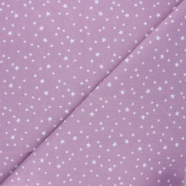 Tissu coton cretonne Atria - lilas x 10cm