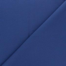 Tissu popeline de coton Edgar - bleu marine x 10cm