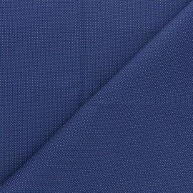 Tissu popeline de coton David - bleu marine x 10cm