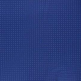 Tissu popeline de coton Éloi - bleu marine x 10cm