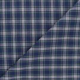Poplin cotton fabric - navy blue Paul x 10cm