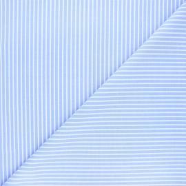 Tissu oxford Andréa - bleu ciel x 10cm