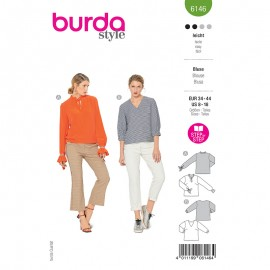 Blouse sewing pattern - Burda Style n°6146