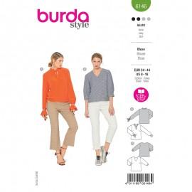 Patron blouse Femme - Burda n°6146