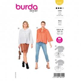 Blouse sewing pattern - Burda Style n°6141