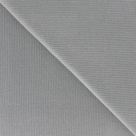 Maille tubulaire gris souris