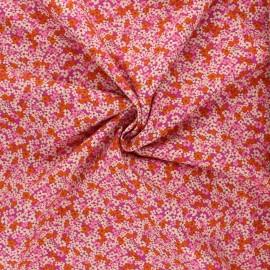 AGF poplin cotton fabric - The Flower Society - Retro Prairie Blush x 10cm