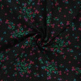 AGF poplin cotton fabric - The flower society - Wild at heart x 10cm