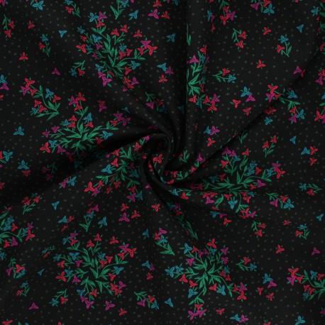 Tissu popeline de coton AGF The Flower Society - Wild at Heart x 10cm