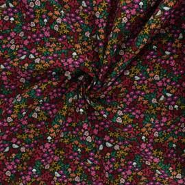 AGF poplin cotton fabric - The Flower Society - Striking Gardenista x 10cm