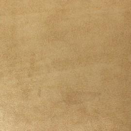 Peau de veau cuir véritable irisée - doré