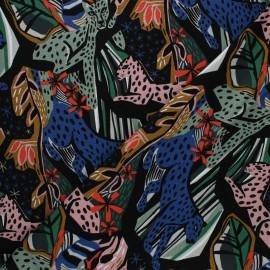 Cloud 9 cotton canvas fabric - Under one sky - Jungle royals x 10 cm