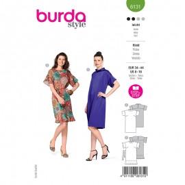 Patron robe droite Femme - Burda n°6131