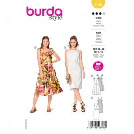 Dress sewing pattern - Burda Style n°6140