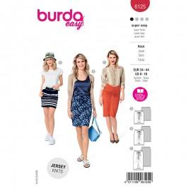 Patron jupe drapée Femme - Burda n°6125