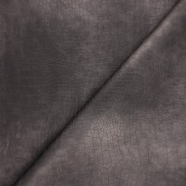 Leather Imitation fabric - metallic taupe Bodie x 10cm