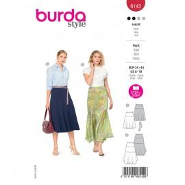 Patron jupe midi Femme - Burda n°6142