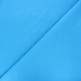 Plain milano jersey fabric - blue x 10cm