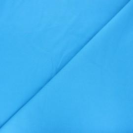 Tissu jersey milano uni - bleu x 10cm