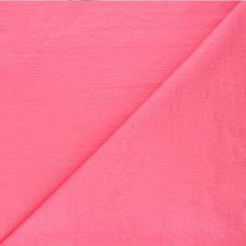 Plain milano jersey fabric - candy pink x 10cm