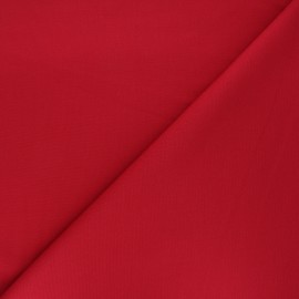 Plain milano jersey fabric - red x 10cm