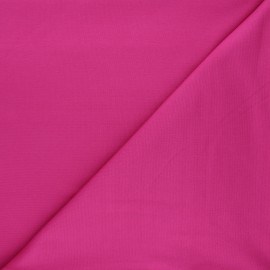 Plain milano jersey fabric - fuchsia pink x 10cm