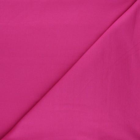 Tissu jersey milano uni - fuchsia x 10cm