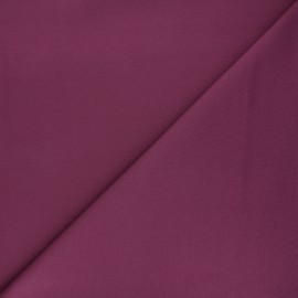 Plain milano jersey fabric - fig pink x 10cm