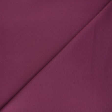 Tissu jersey milano uni - figue x 10cm