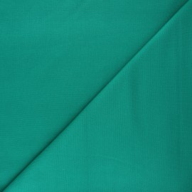 Plain milano jersey fabric - meadow green x 10cm
