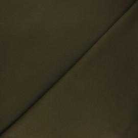 Tissu jersey milano uni - olive x 10cm