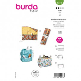 Toiletry bag sewing pattern - Burda Style n°9276
