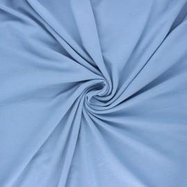 Plain jersey bamboo fabric - light blue x 10cm