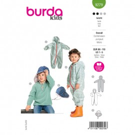 Rain jumpsuit sewing pattern - Burda Style n°9279