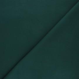 Tissu jersey milano uni - vert sapin x 10cm