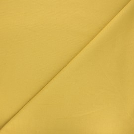 Plain milano jersey fabric - mustard yellow x 10cm