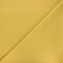 Tissu jersey milano uni - jaune moutarde x 10cm