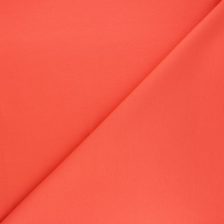 Tissu jersey milano uni - corail x 10cm