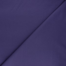 Plain milano jersey fabric - purple x 10cm