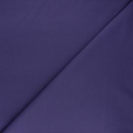 Tissu jersey milano uni - violet x 10cm
