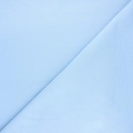 Tissu jersey milano uni - bleu clair x 10cm